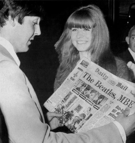 Paul e Jane voltando de Portugal